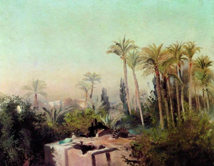 Irrigation in Egypt, Konstantin Makovsky